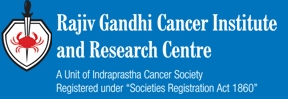 RAJIV GANDHI CANCER INSTITUTE Logo